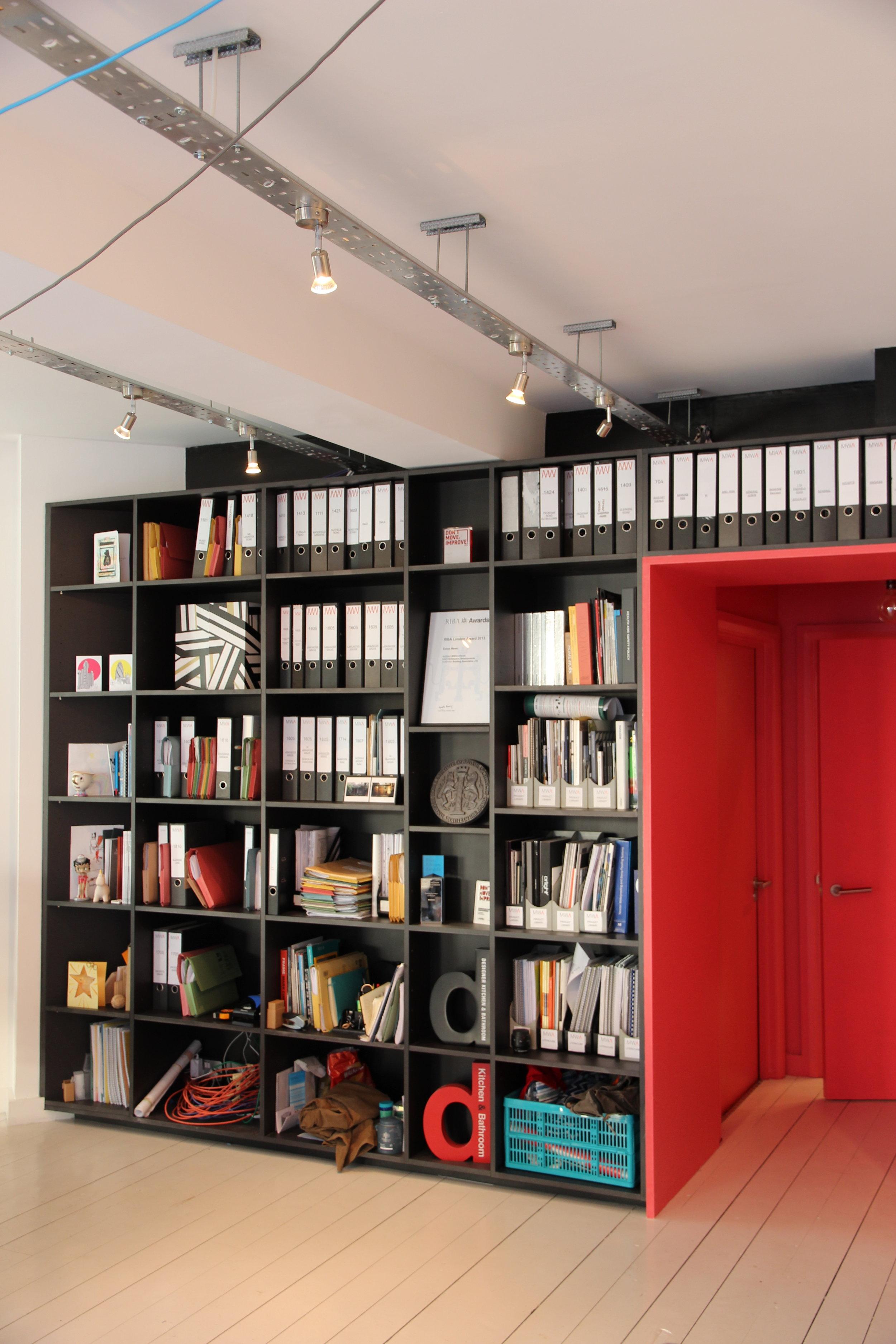 Bookcase MW Architects Studio