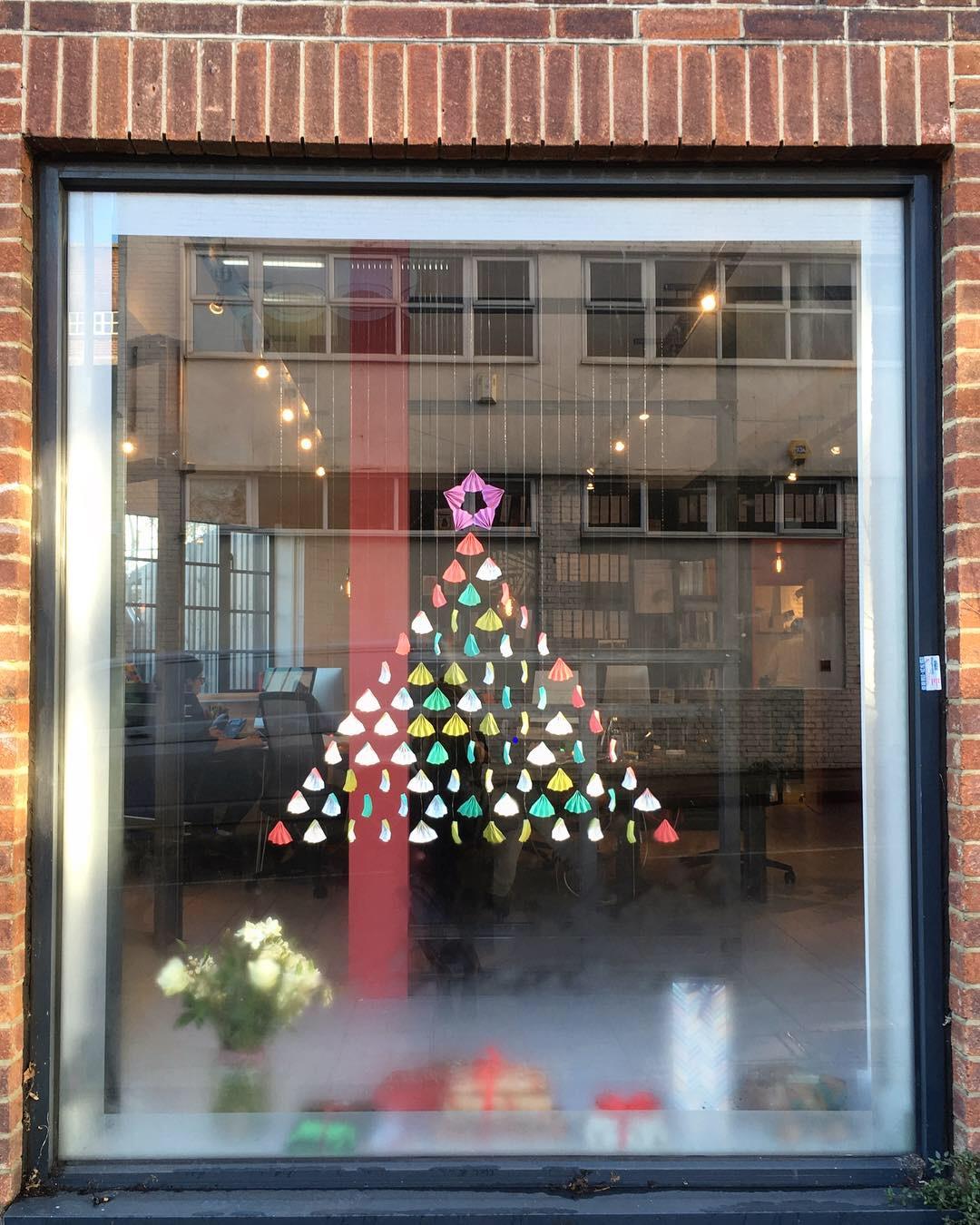Christmas Shop Window - MW Architects