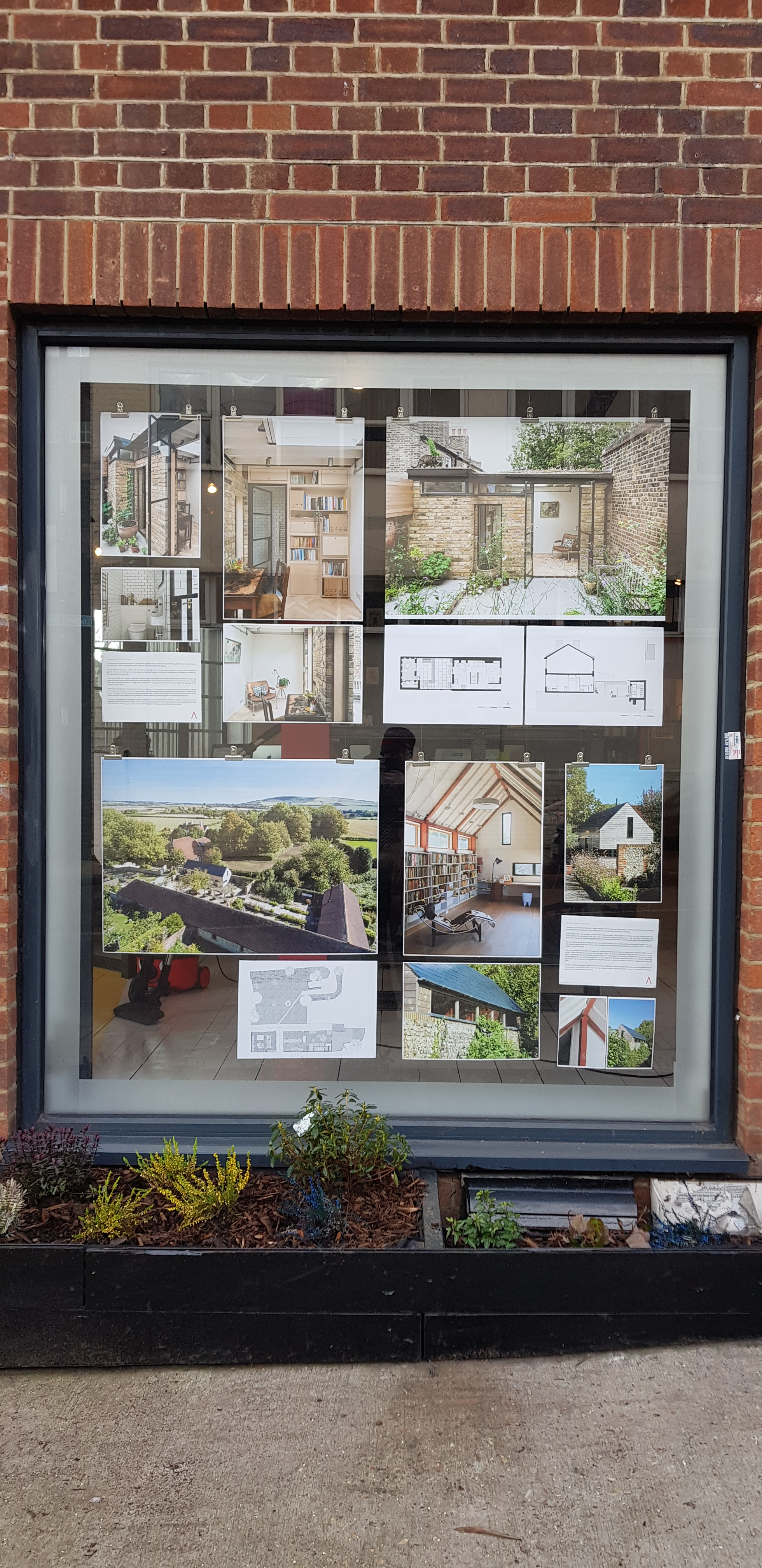 January 'Shop Window' Buildings in Gardens by MWArchitects