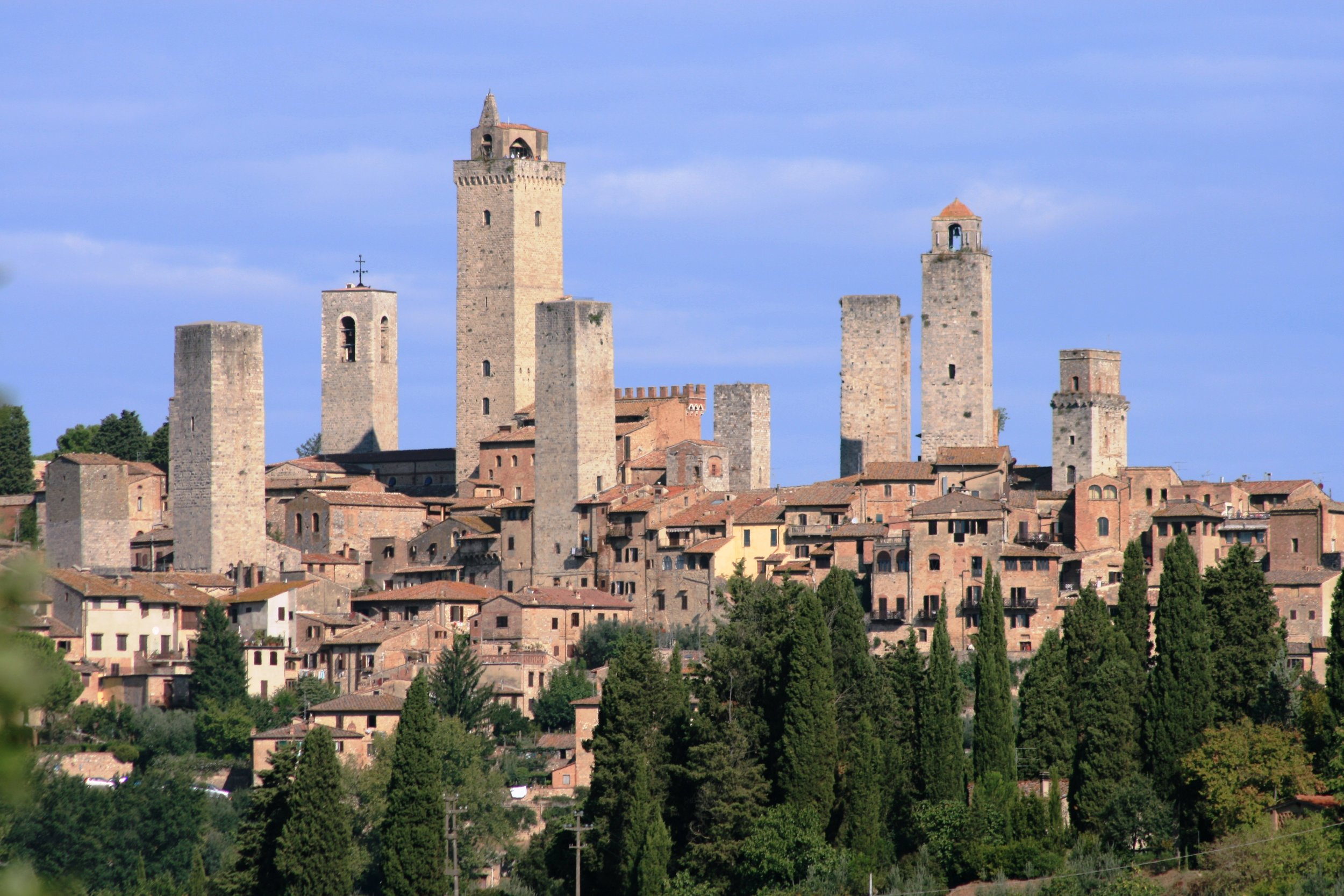 San Gimignano (image source unknown)