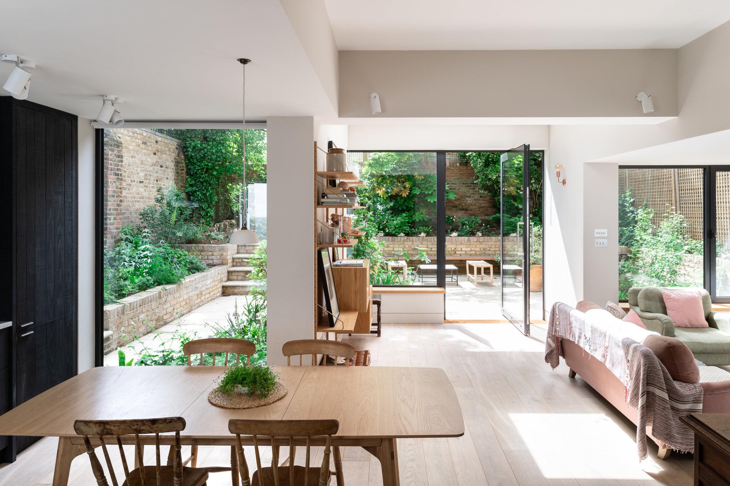 Elgin Avenue views to Garden - MW Architects