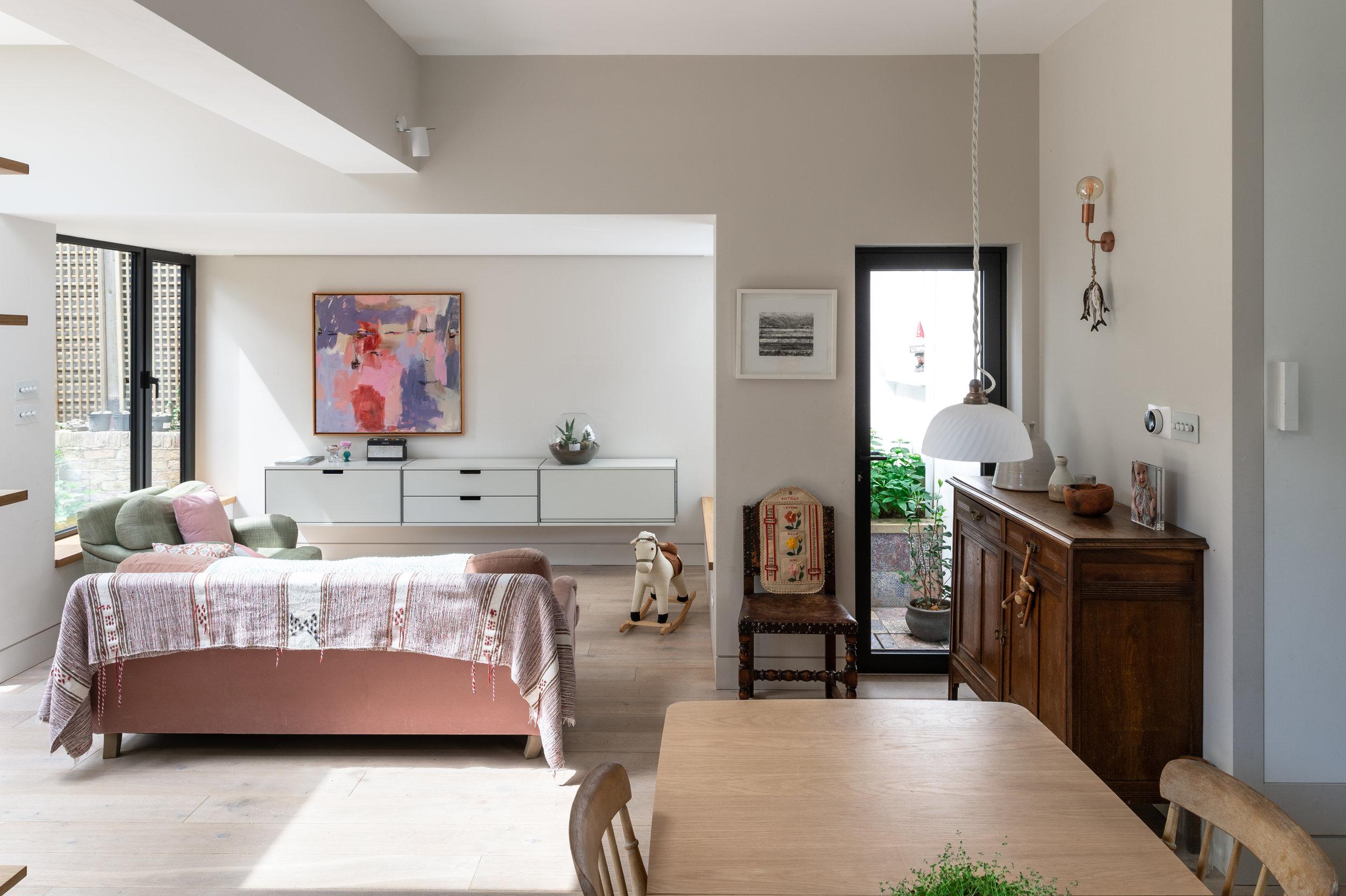 Elgin Avenue Dining / Living - MW Architects
