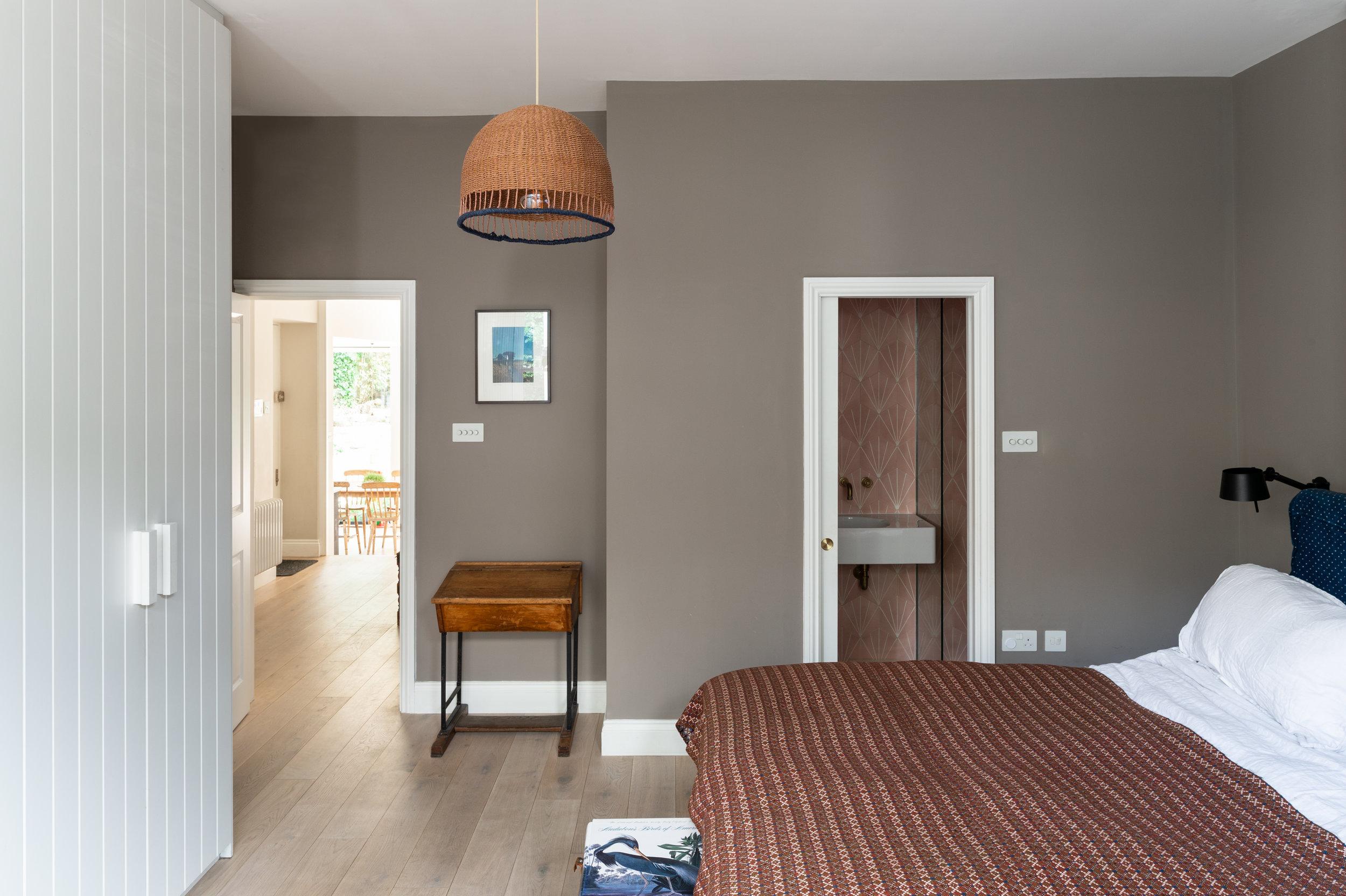 Elgin Avenue Master Bedroom - MW Architects