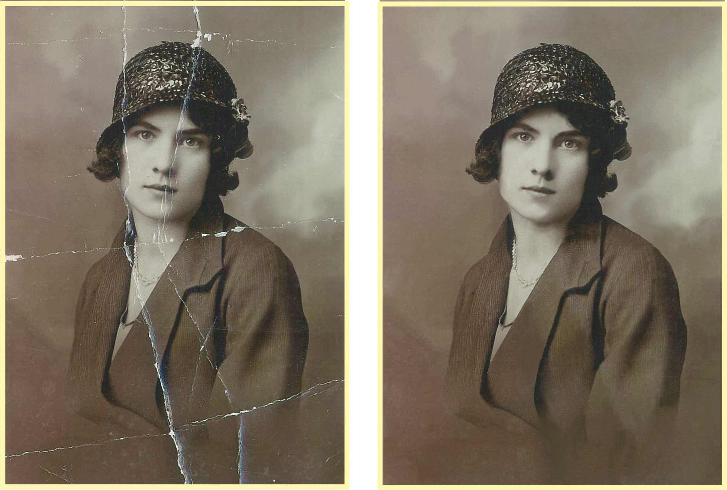 Can your photos use a little help to restore their former glory? We offer basic and advanced restoration services. Its like a time machine for your photos. Contact us today to learn more about our services.