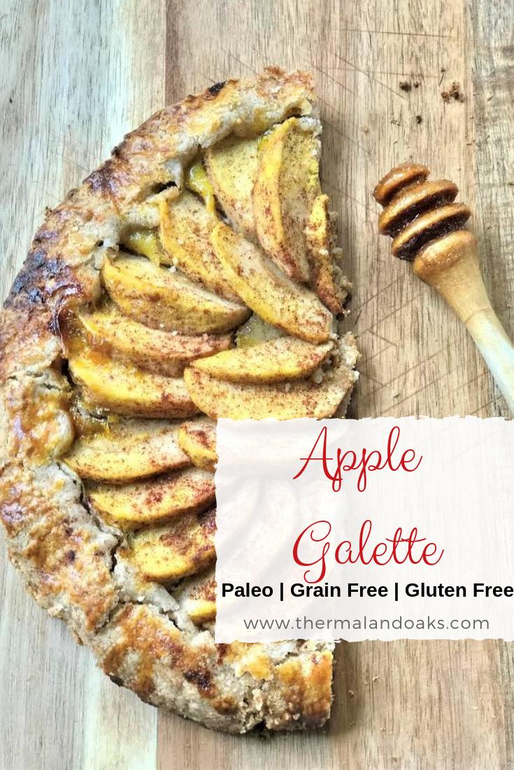Paleo Apple Galette #appledessert #paleo #paleodessert #applegallete #paleofood #farmfresh