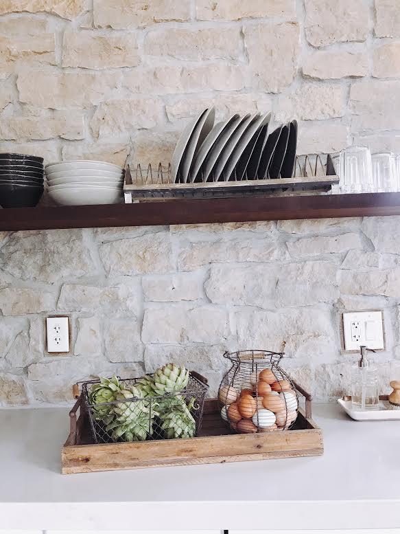 Basket decor, #labrador, #basket, #farmhouse, #farmhousedecor #rockwall, #modernfarnhouse, #farmhousekitchem, #kitchendecor, #rock, #homesteading
