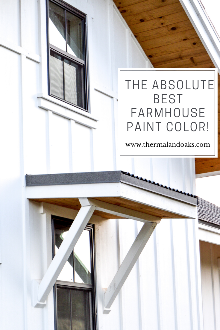 The Absolute Best Farmhouse Paint Color Thermaland Oaks