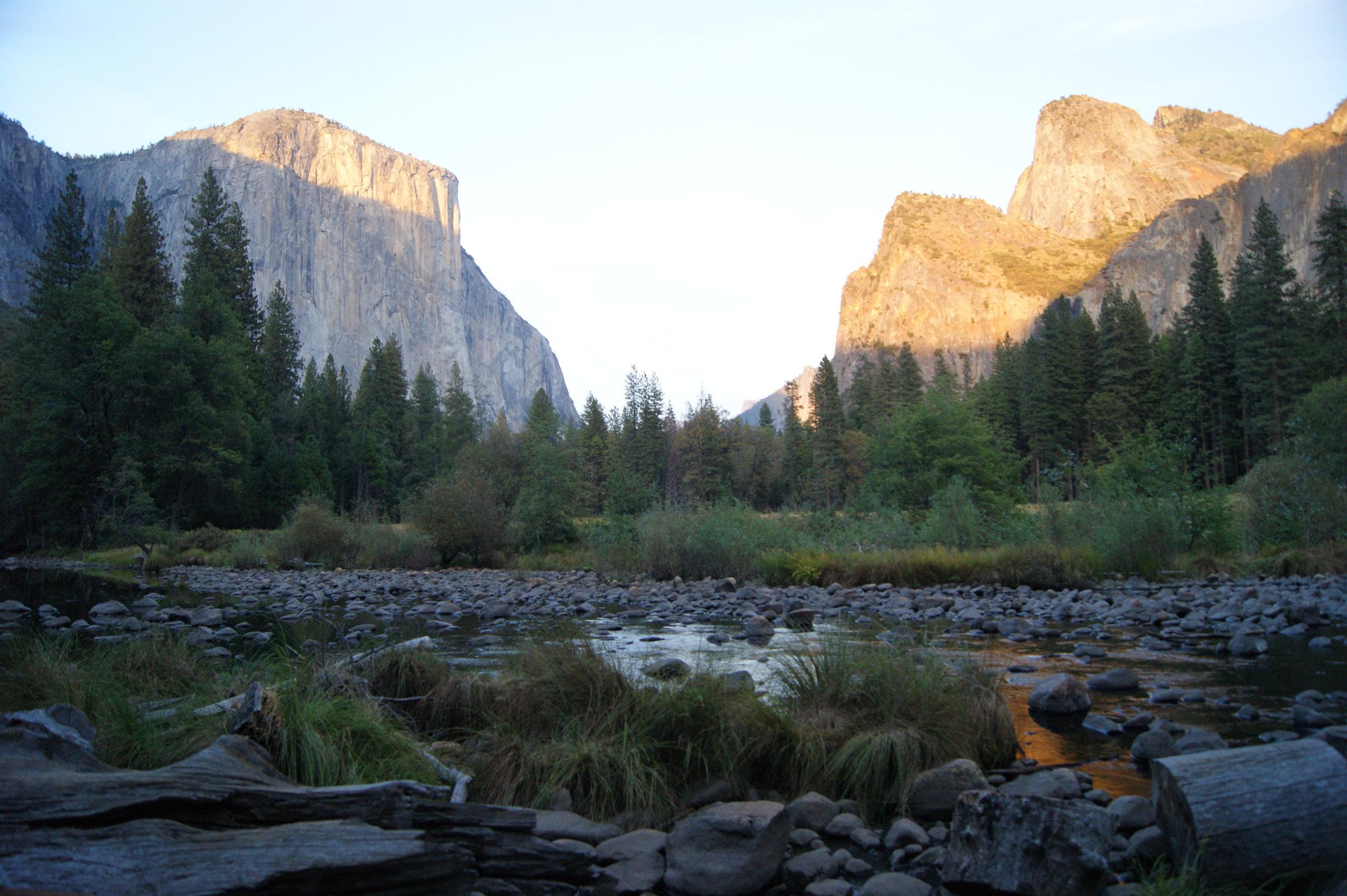 travel to Yosemite