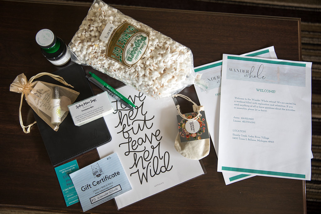 retreat gift bag