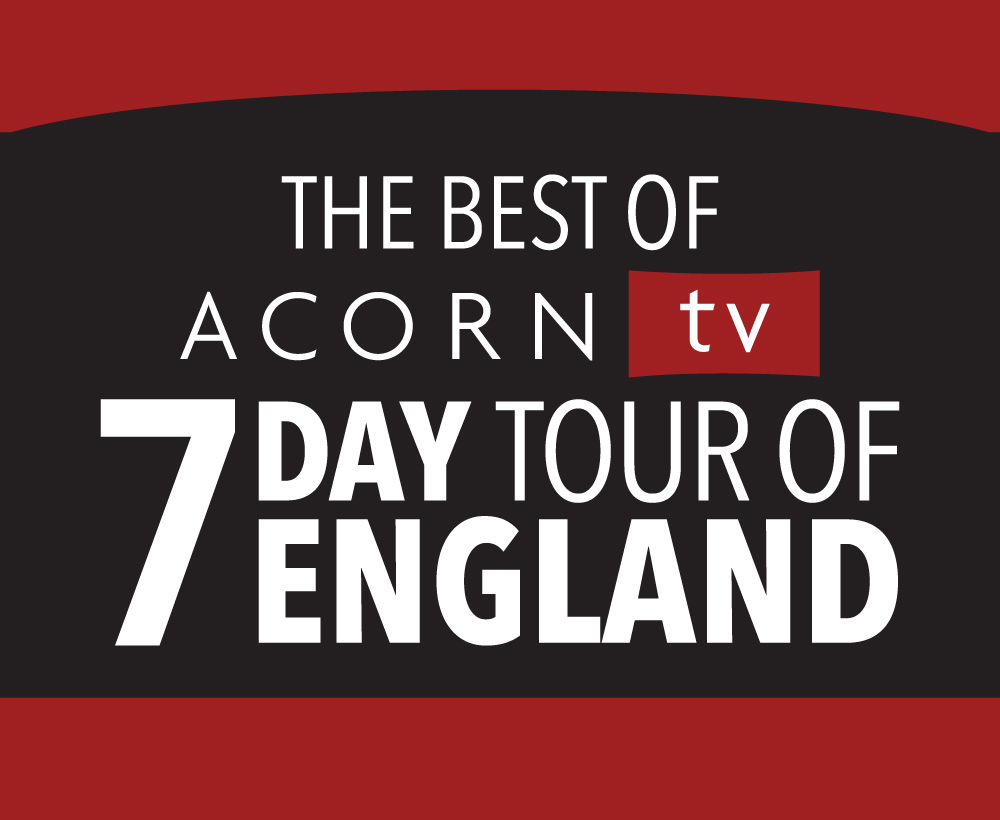 VISIT THE BEAUTIFUL AND HISTORICAL PRODUCTION LOCATIONS FOR SOME OF THE MOST POPULAR PROGRAMS ON ACORN TV — DOC MARTIN, MIDSOMER MURDERS, AGATHA CHRISTIE'S POIROT, AGATHA RAISIN AND MORE, INCLUDING ACTOR MEET AND GREETS, AND A SPECIAL VISIT TO HIGHCLERE CASTLE. -