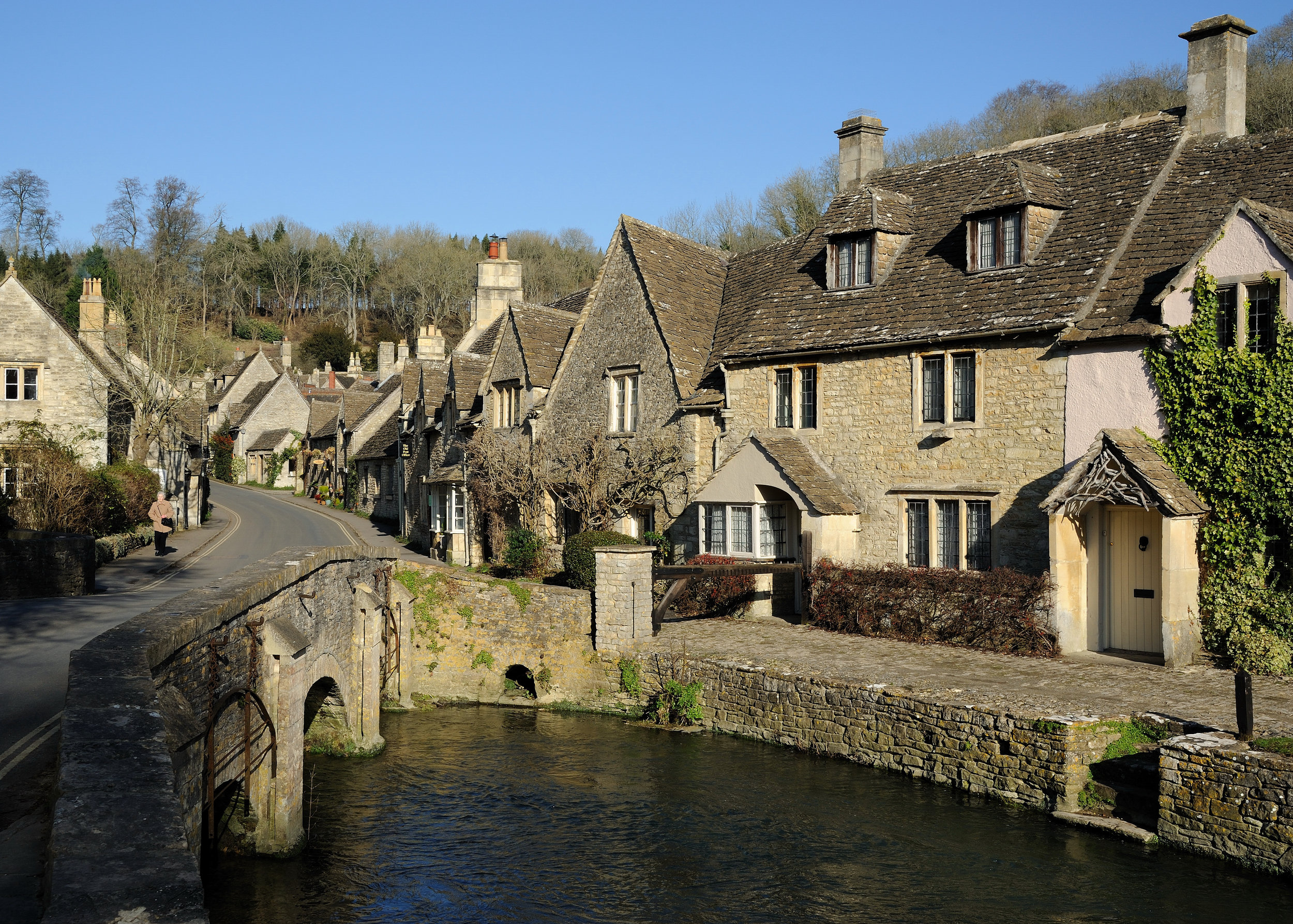 If you're hooked to Sky One's comedy crime drama Agatha Raisin, there's a chance to slink through the picturesque Cotswold village of Biddestone where the series is set, during the TV tour.