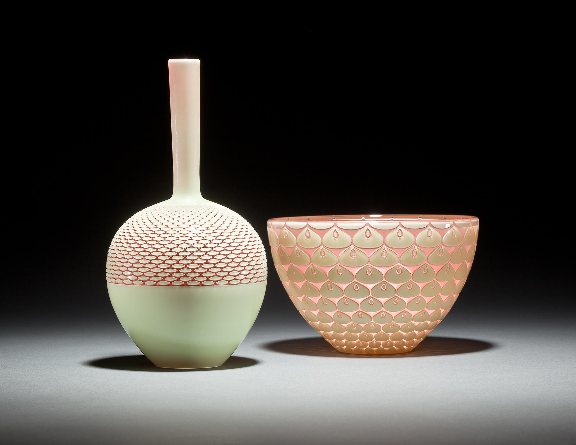 Thistle Bottle, Lotus Bowl