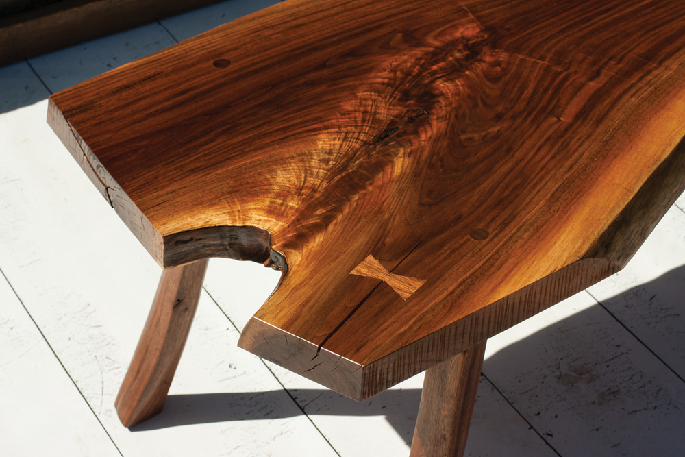 Detail of Riven coffee table
