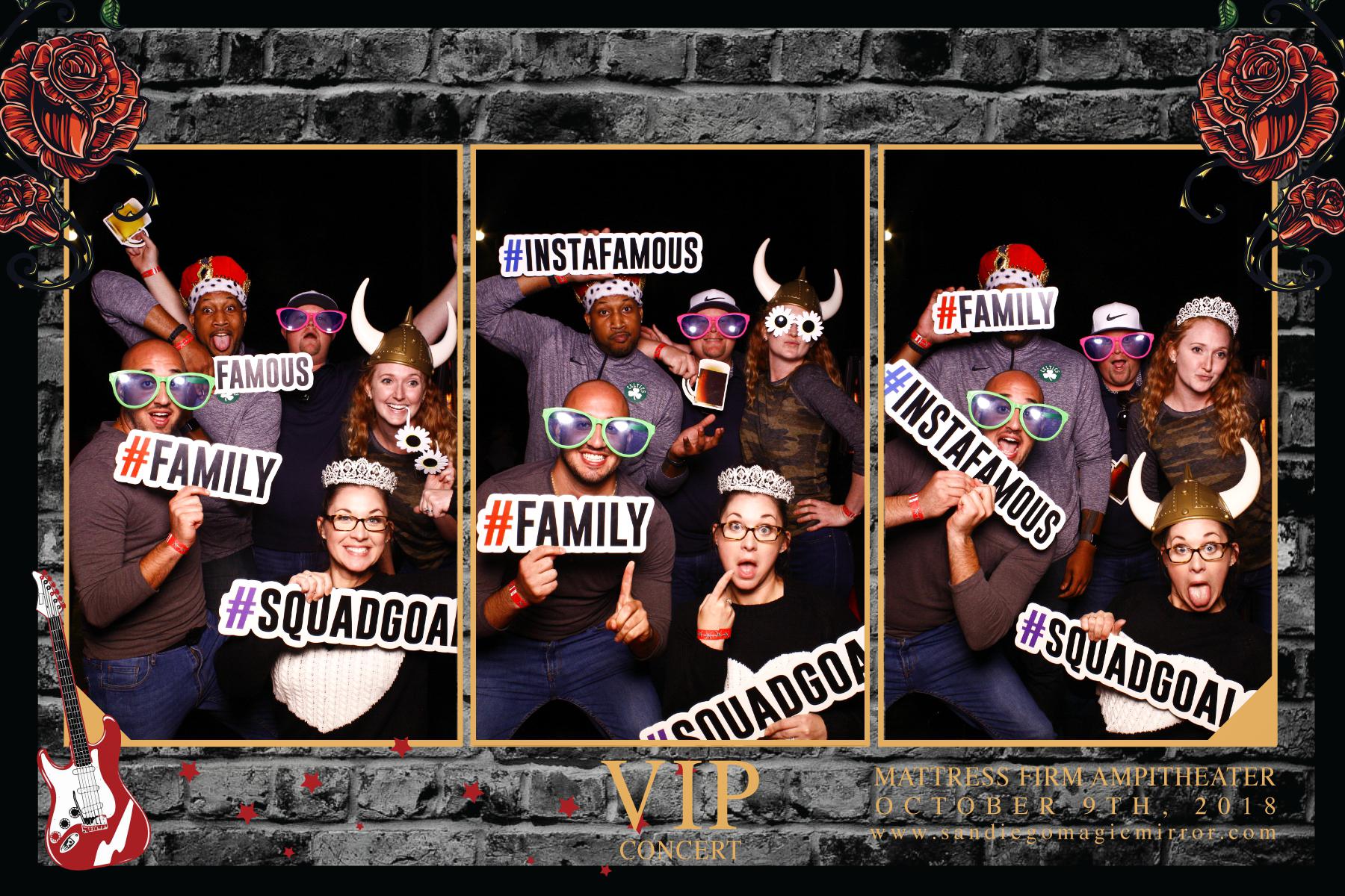 San Diego Magic Mirror Photo Booth VIP Party