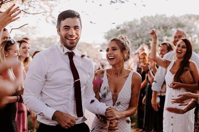 I wanna spend the rest of my sunsets with you. 💛  Photo by @shanaygreenephotoraphy  . ~~~~~~~~ #lunikhy #gamefarm #bush #wedding #bushwedding #love #sunsets #marriage #weddingdress #weddingsuit #groom #bride #couple #love #newlyweds #confetti #justmarried #bushgetaways #bushholiday #photography #weddingphotography #picoftheday