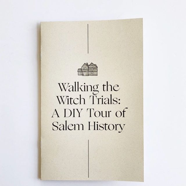 Hey, I wrote this zine! It's a great friend for anyone visiting Salem who wants to do some  educational exploring on their own. There's a sweet lil' map inside designed by @janemade_  with the 13 stops from my Witches:1692-Today Tour and short factoid-filled paragraphs explaining each stop's connection with the Salem Witch Trials. Plus, there's 8 Bonus Sites that definitely deserve a visit! While the zine doesn't take the place of a live guided tour, it IS an awesome starter reference to get you grounded in Witch City. You can pick one up at the @hauswitch store online or in person. Link at the bottom of IG linktree! P.S. if you're in Salem TODAY, come experience the Witches tour live 4-6pm! #salemwitchtrials #diy #guide #witchcity #salem #salemmassachusetts #salemma #salemmass