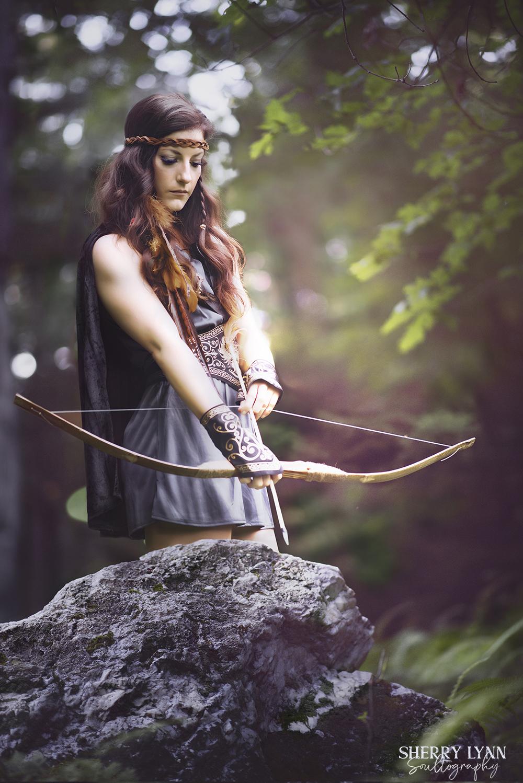 Steph with Arrow Light.jpg