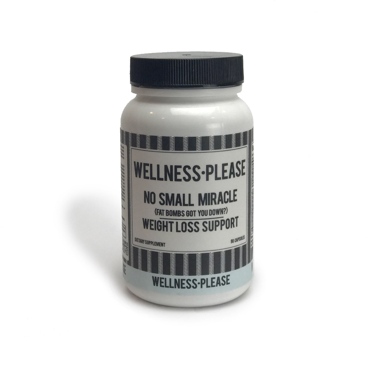 - Weight loss is a much easier task with NO SMALL MIRACLE.Our bespoke formula is an effective tool for mindful eating, weight loss and reduced risk of cardiovascular disease.Use in tandem with CURB YOUR CRAVING appetite suppressant for a formidable, preventative weight loss team!