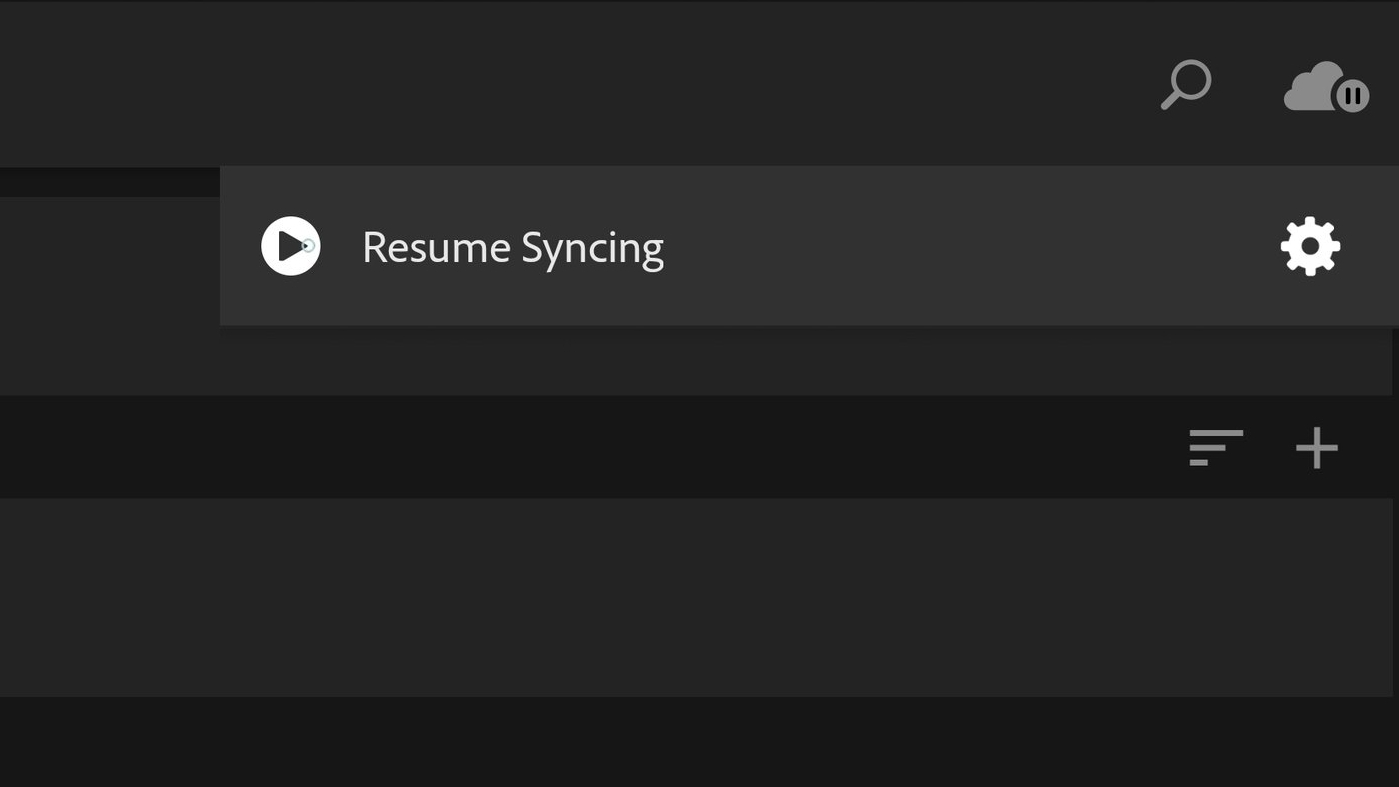 Resume Syncing