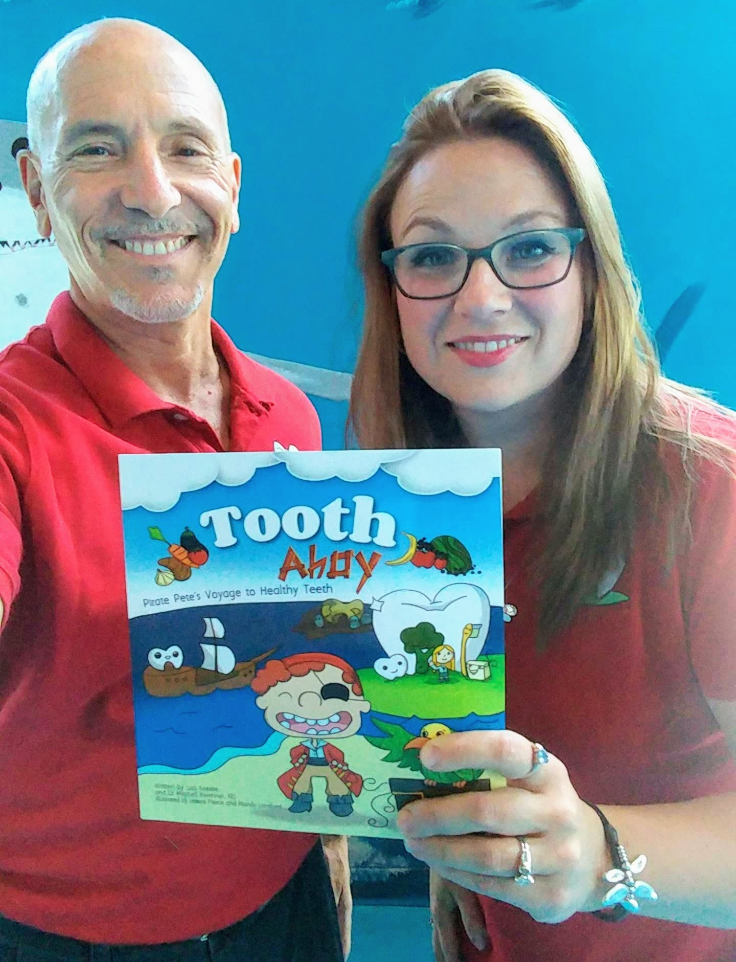Tooth Ahoy Authors Lisa Soesbe and Dr. Mitchell.jpg