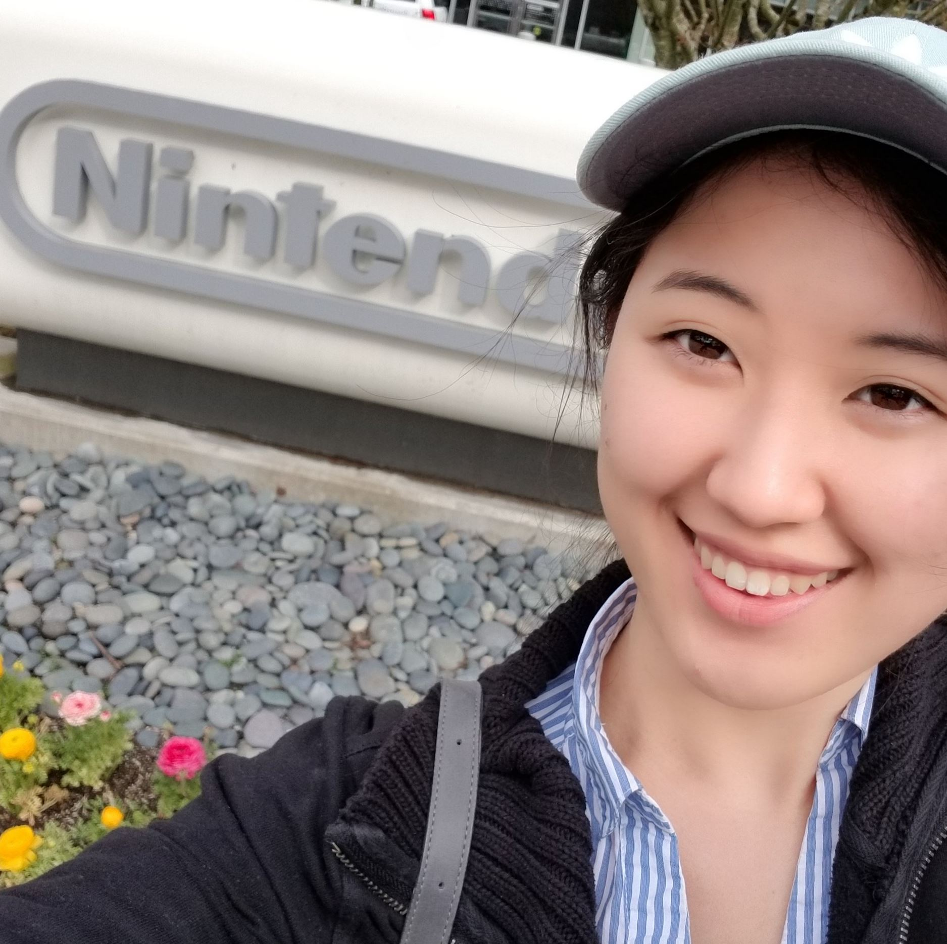 Jisu at Nintendo of America