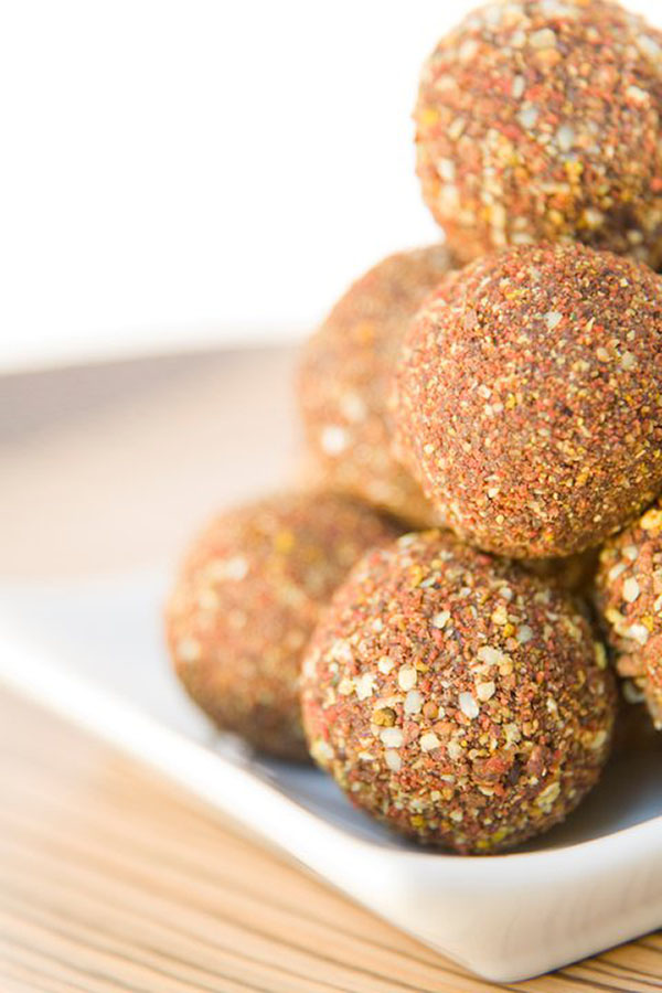 Silvermoon Chocolates Medicine Balls are made from all organic and wildcrafted ingredients and contain absolutely NO dairy, gluten, soy, peanuts, or refined sweeteners!