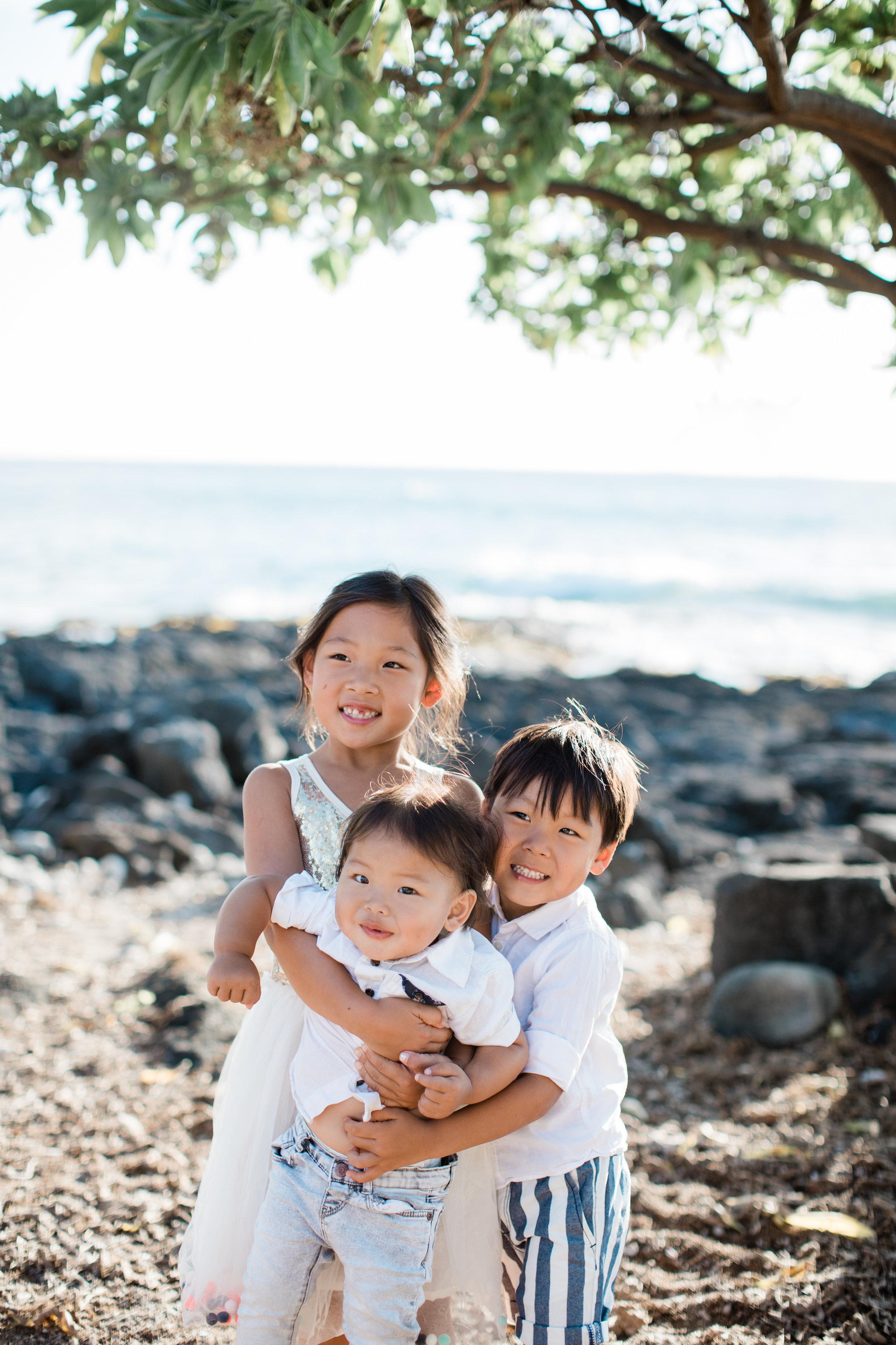 the park family   living stones // kona, hi