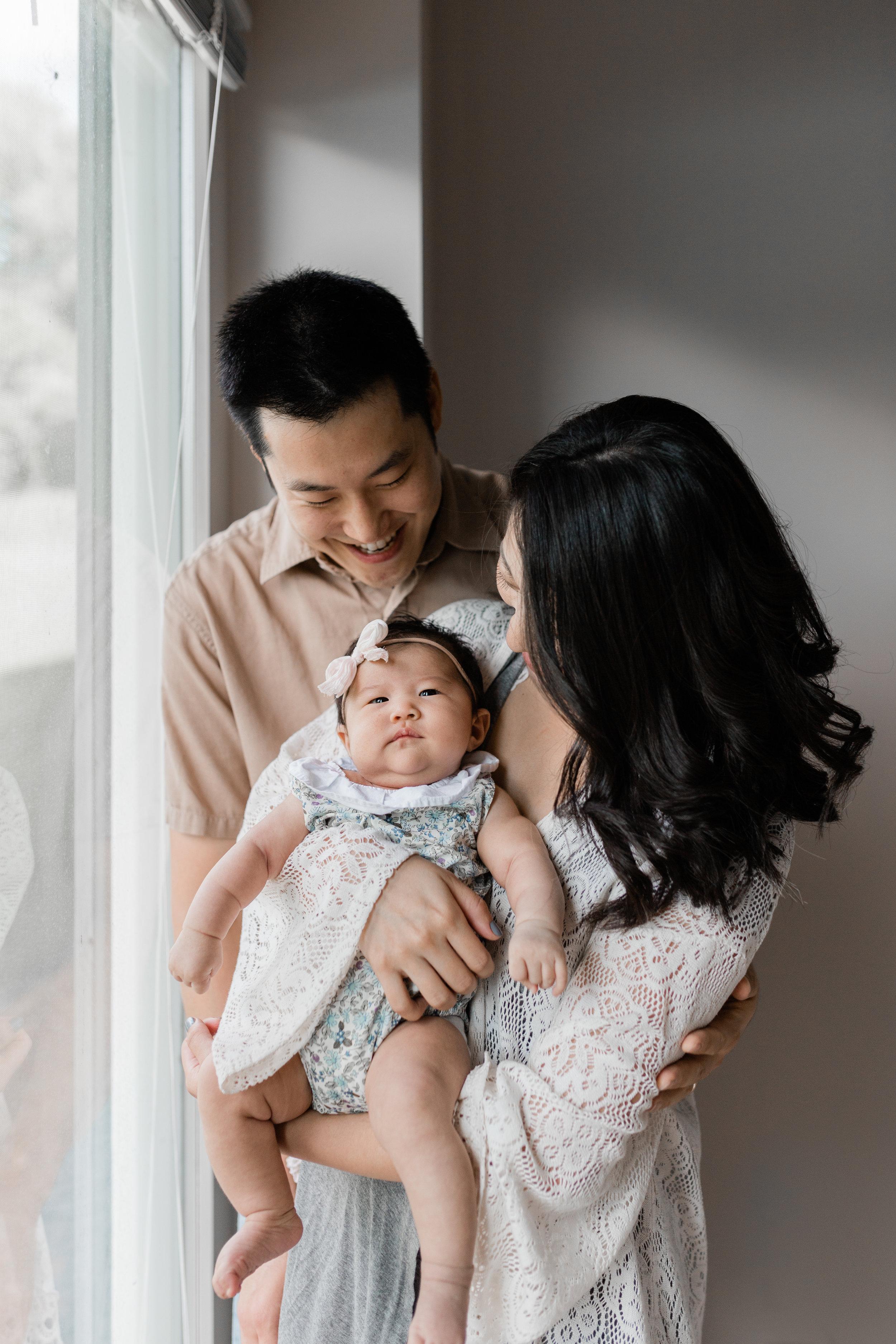 the kim family   at home // Kansas city, mo