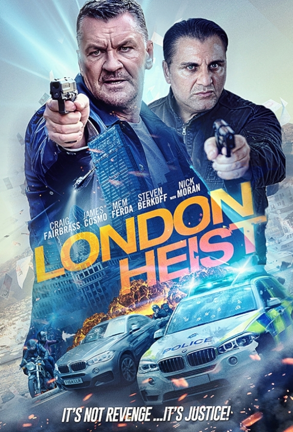London Heist   a lead role as an East-End gangster, Lenny Moore.