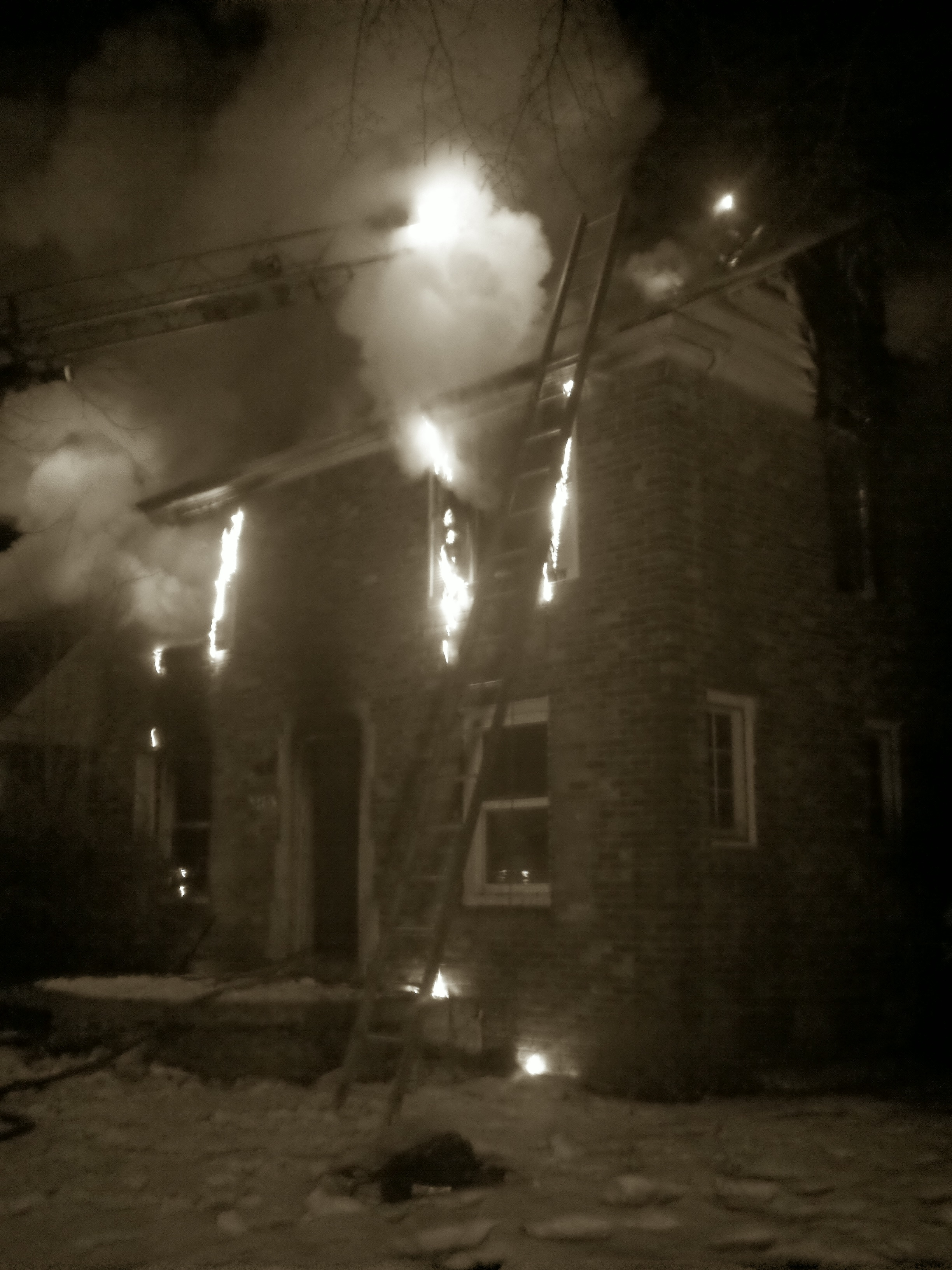 Second Story Box Alarm Detroit Michigan BURN Film