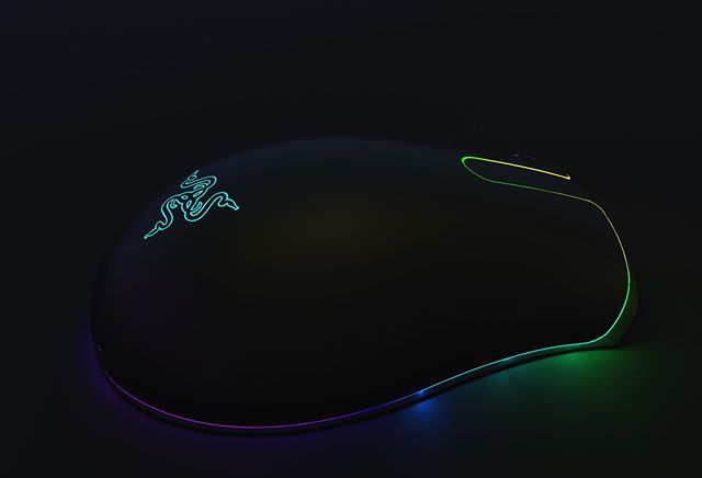 It's lit. #razer #gamingmouse #gaminghardware