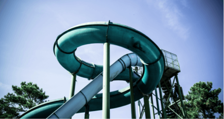 """""""You can't be that kid standing at the top of the water slide, overthinking it. You have to go down the chute"""" – Tina Fey"""