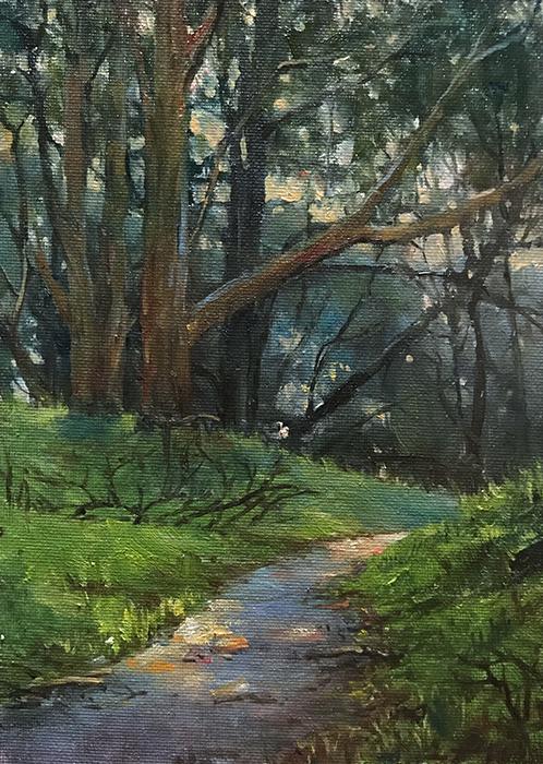 Path in the Presidio