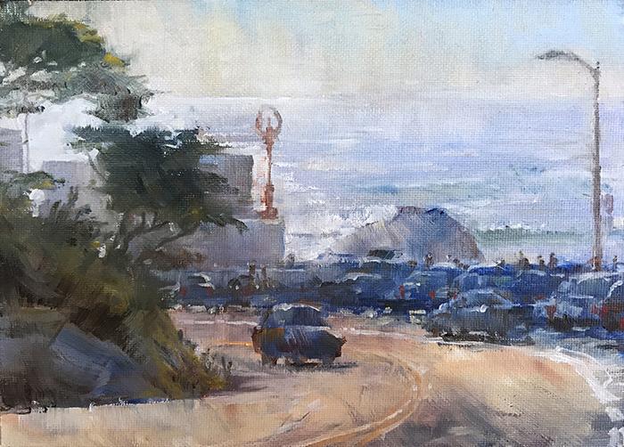 Cliff House Before Dusk