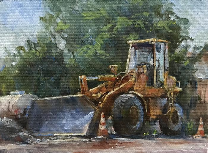 Digger in Fremont