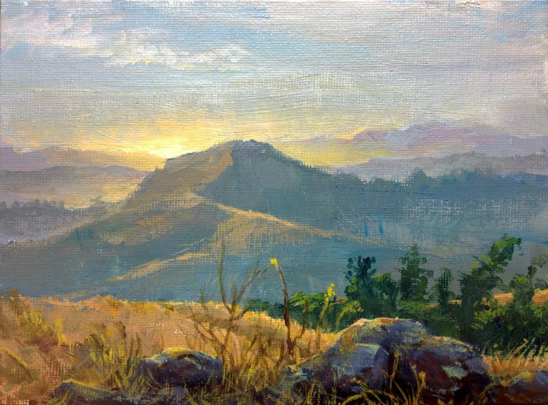 Russian Ridge Dusk