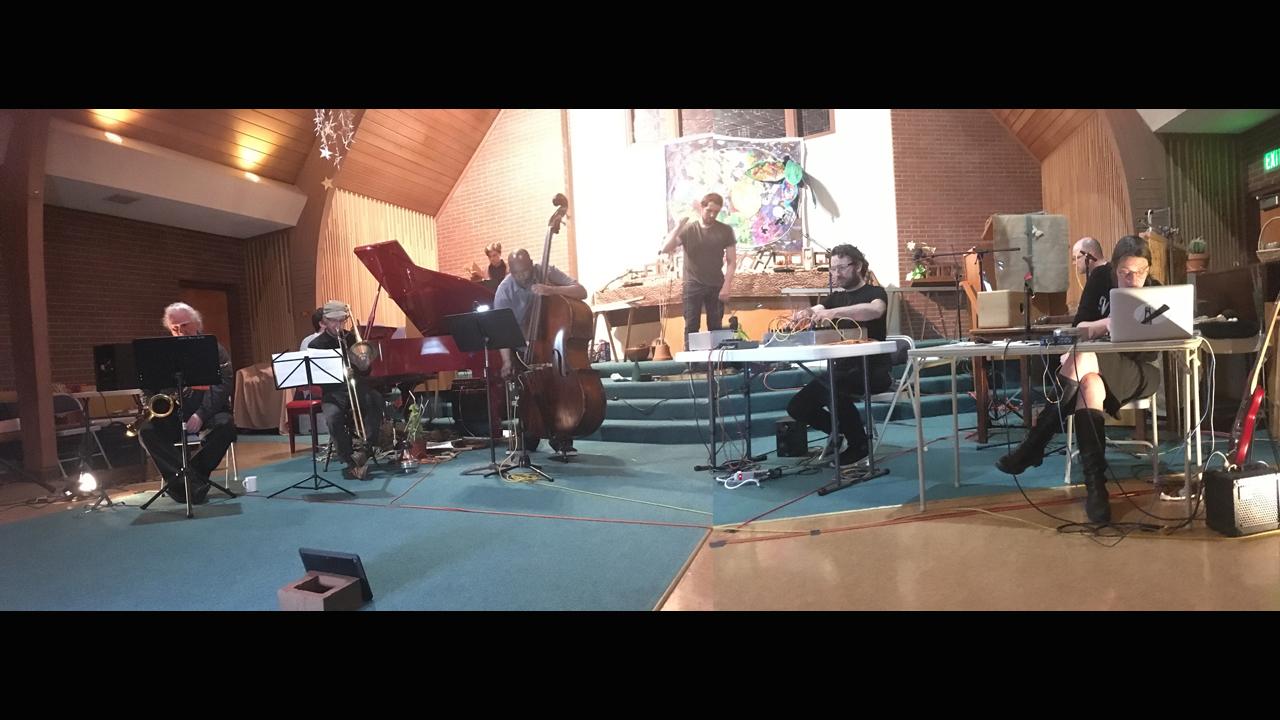 Toshi Ichiyanagi - The Field (1966) - 2017 performance