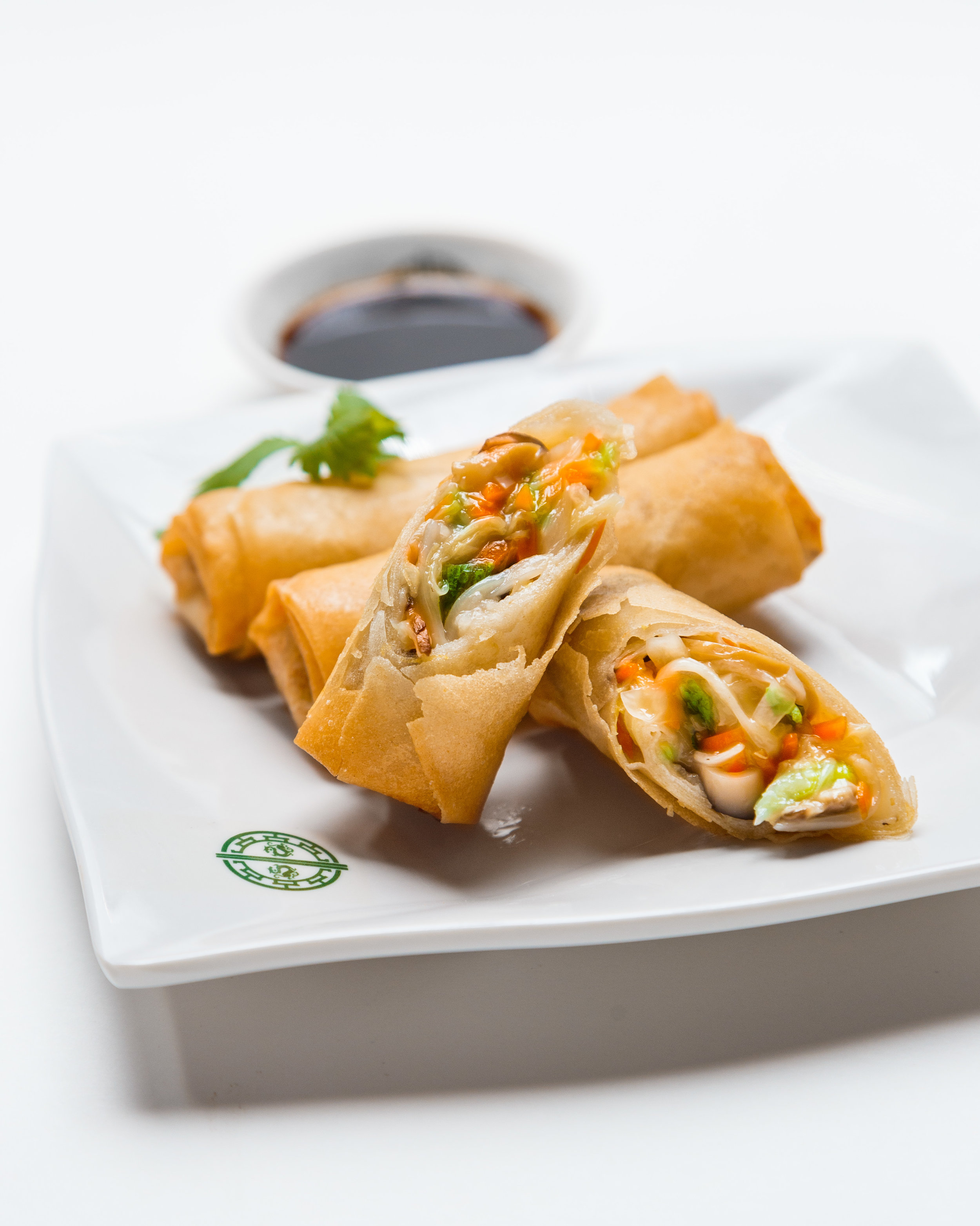 Deep Fried Spring Roll filled with Lo Han Jai.jpg