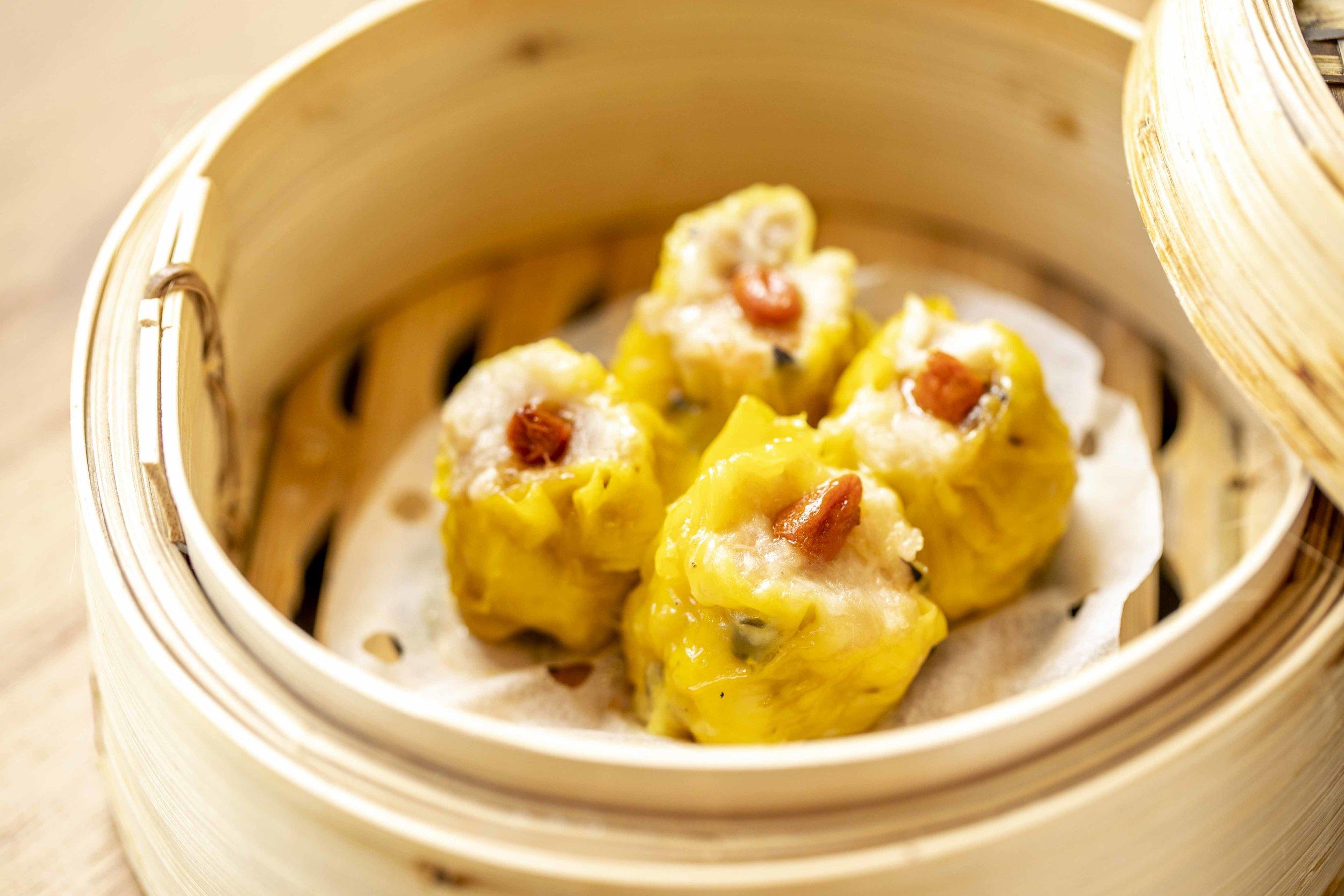Steamed Pork Dumpling with Shrimp (Siu Mai)