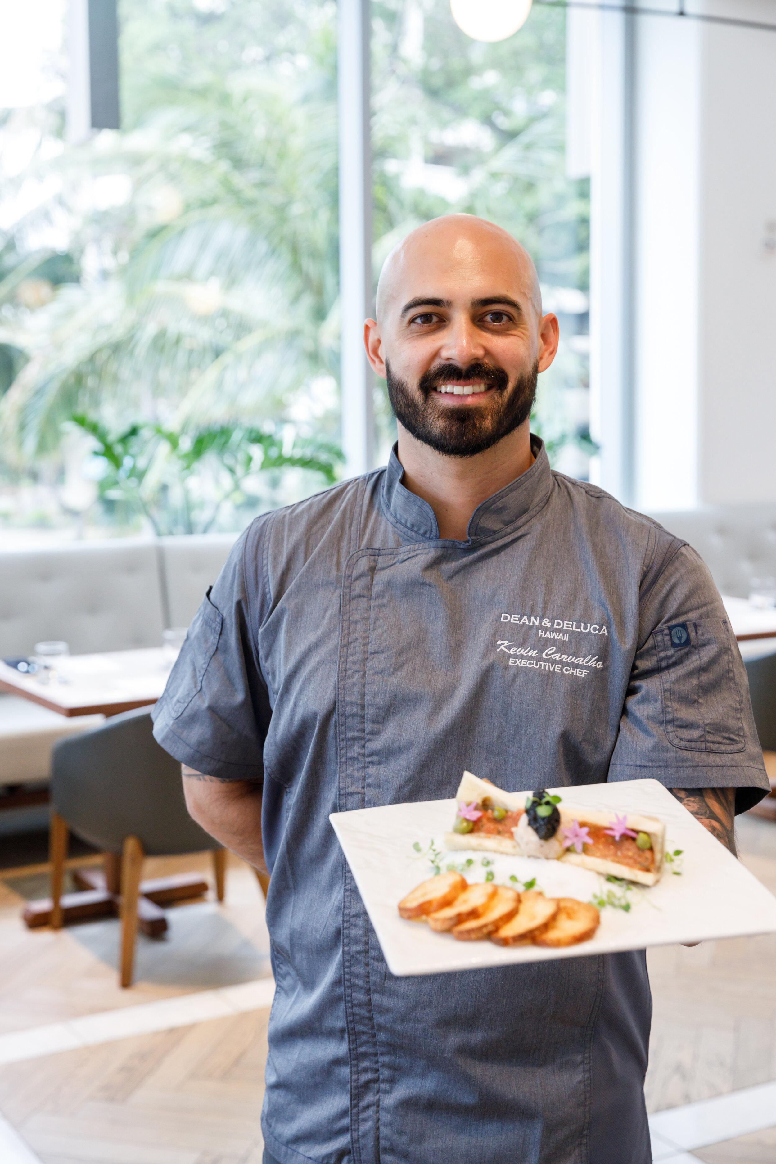 Executive Chef, Kevin Carvalho