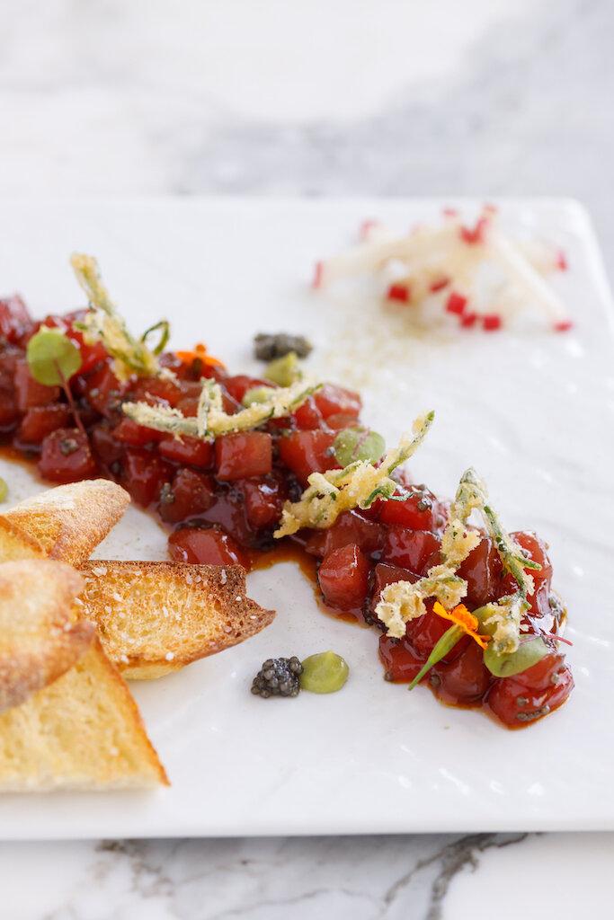 Ahi & Caviar