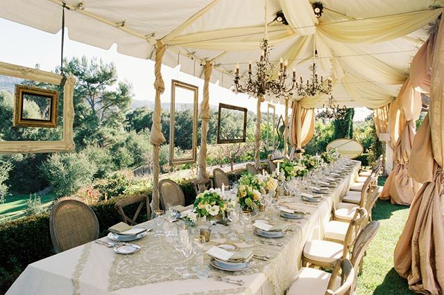 "Sonia Hopkins of @xoxobride outdid herself AGAIN with her ""picture perfect"" design at the stunning Casa Elar at @ojaivalleyinn⠀⠀⠀⠀⠀⠀⠀⠀⠀ The Nandini Net Guilded overlay by @tavolalinen set the mood of elegance with its lace detailing. Coupled with Dupionique Iridescence linen and the vintage pearl flatware line by @tacer_losangeles the luxurious elegance was beyond. @hollyfloral created a sweet floral tie-in with hues of cream, peach and flax. As photographers we appreciate attention to detail and this amazing team truly outdid themselves!⠀⠀⠀⠀⠀⠀⠀⠀⠀ Lab @indiefilmlab⠀⠀⠀⠀⠀⠀⠀⠀⠀ . ⠀⠀⠀⠀⠀⠀⠀⠀⠀ .⠀⠀⠀⠀⠀⠀⠀⠀⠀ .⠀⠀⠀⠀⠀⠀⠀⠀⠀ #ojaivalleyinn #filmisnotdead #ishootfilm #fuji400h #contax645photo #contax645 #indiefilmlab #santabarbarawedding #styledshoot #weddinginspiration #ojaiwedding #ojaiweddingphotographer #losangelesweddingphotographer #laweddingphotographer #sanfranciscoweddingphotographer #italyweddingphotographer #mauiweddingphotographer #kauiweddingphotographer #madridweddingphotographer #weddingphotographer #weddingseason #weddinginspo #santabarbaraweddingphotographer #weddingphotographersantabarbara #weddingdress #bride #weddingphotography #weddingphotographers #weddingideas #bridal"