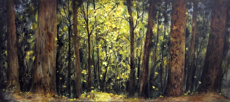 Copy of In Forests No. 26: Near Tenaya Creek, Mid-October