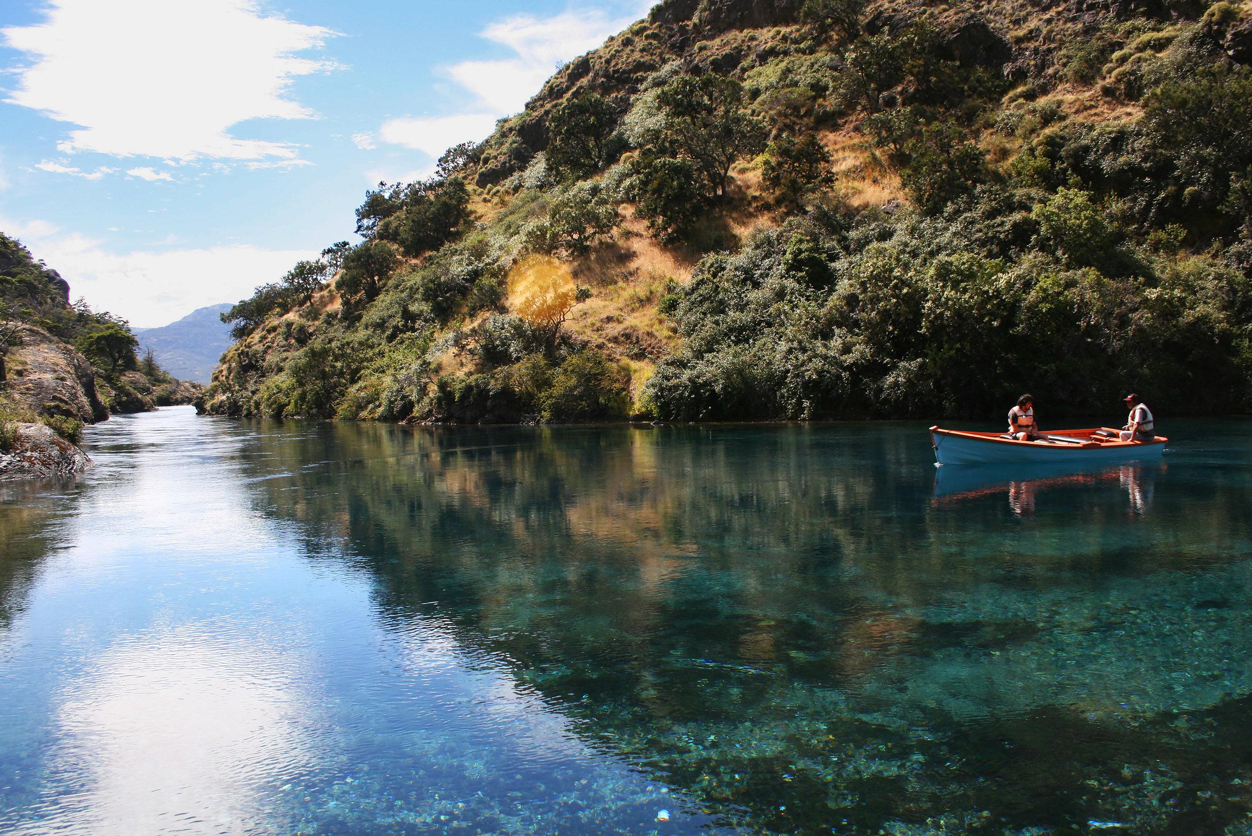 Boat - Cochrane, Chile