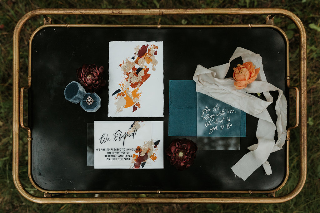 Intimate Farmyard Elopement // Styled Shoot - Bexley Wedding Stationery