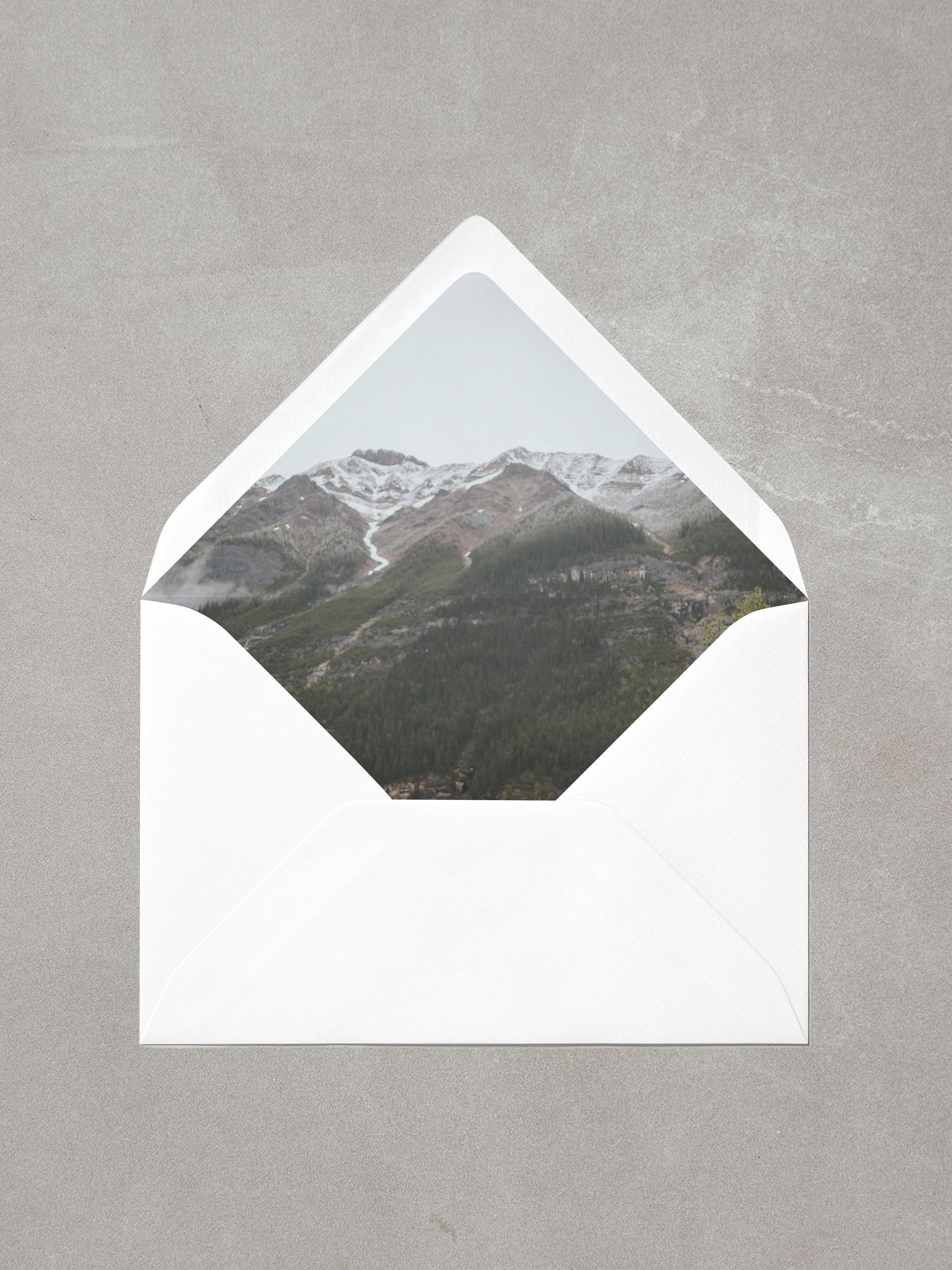 Forelsket Addition // Envelope Liners