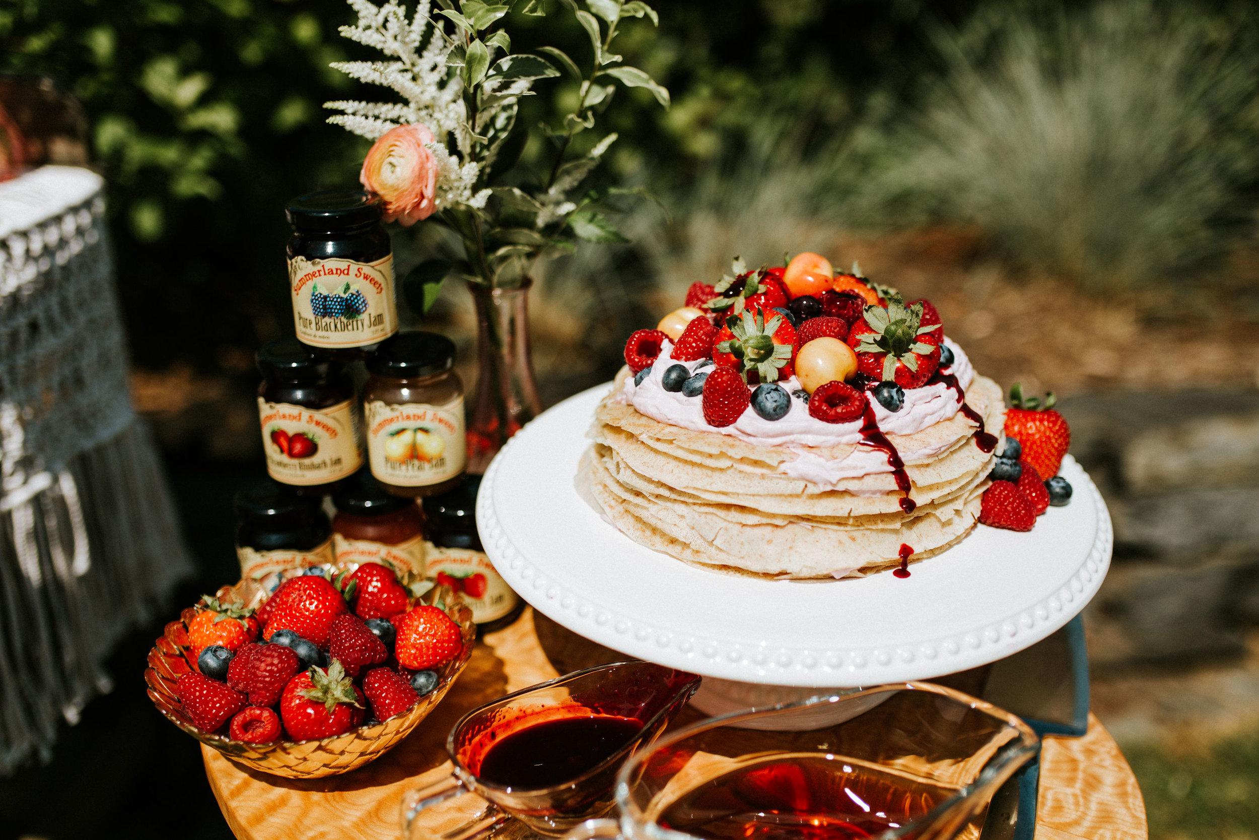 Crepe Cake Recipe Blog Post | Bexley Design Co | On the Blog