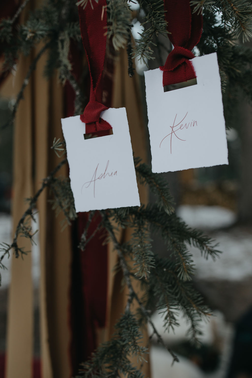 Winter Cabin Elopement // On the Bexley Design Co Blog // Styled Shoot in Bragg Creek