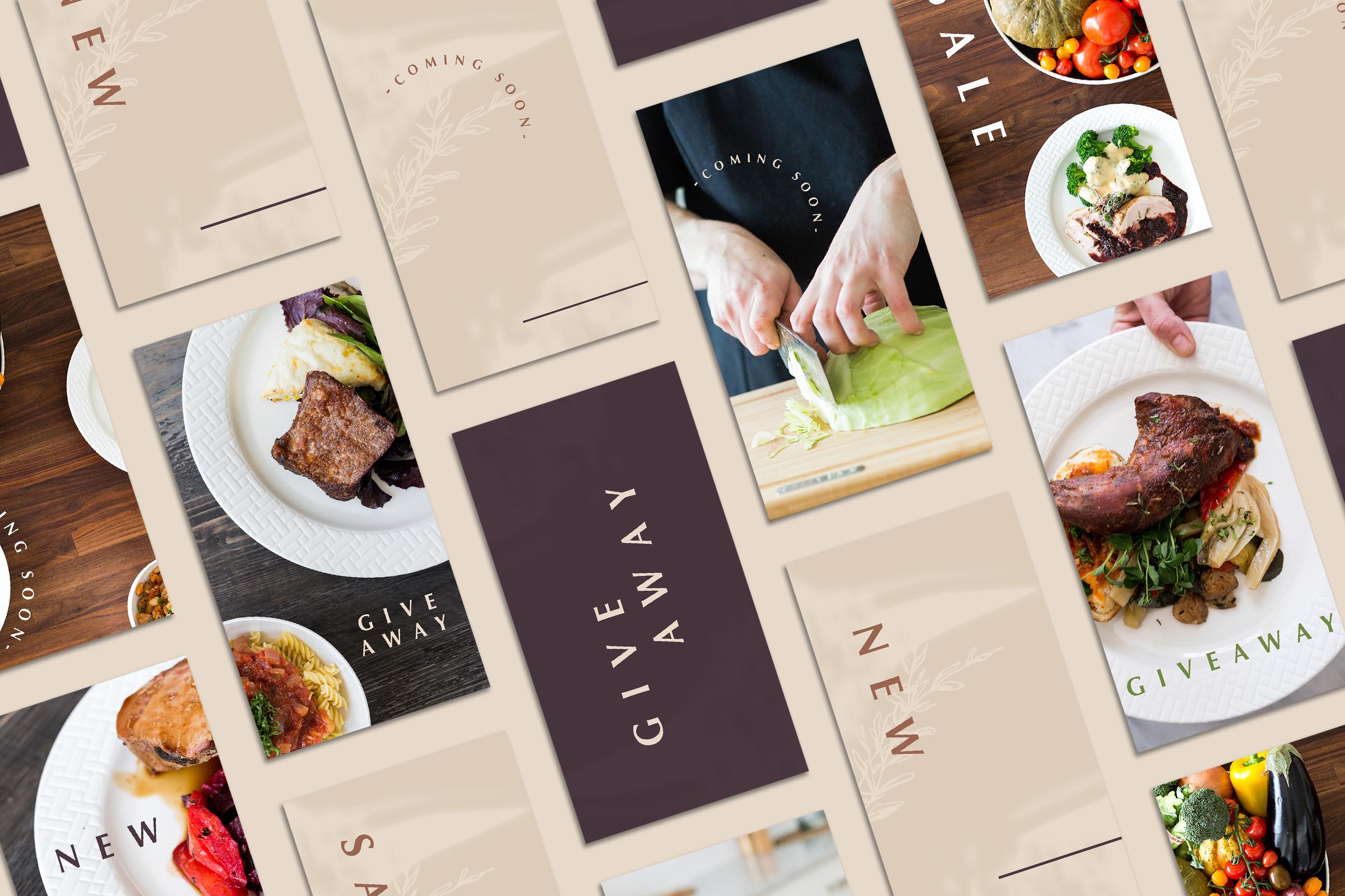 Preserved Foods Boutique - Logo Design - Bexley Design Co