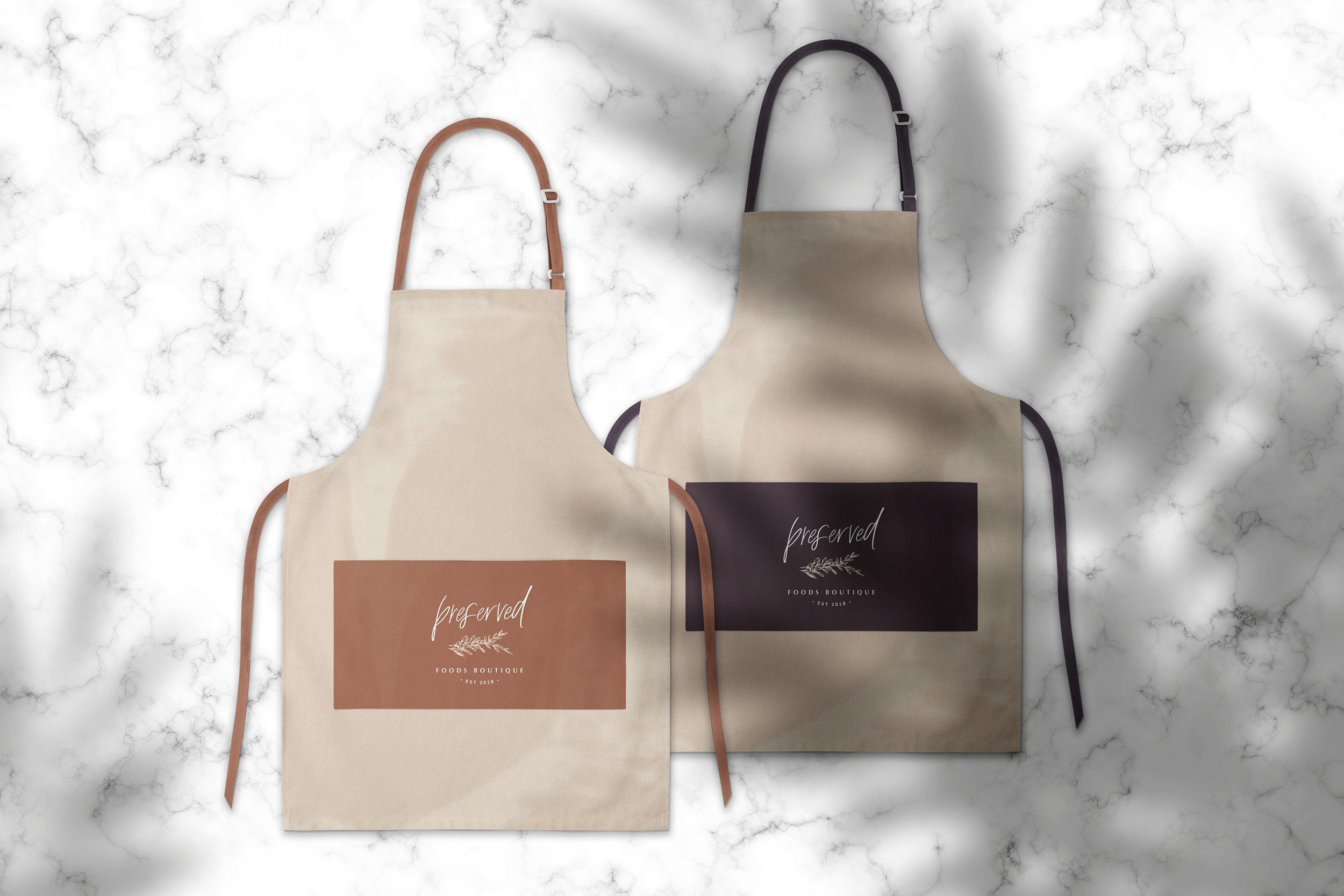Preserved Foods Boutique - Logo Design and Branding - Bexley Design Co